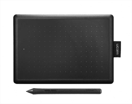 Планшет для рисования Wacom One CTL-472 USB черный/красный